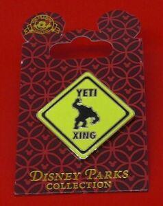 Walt-Disney-Parks-Enamel-Pin-Badge-on-Backing-Card-Yeti-Xing-2008