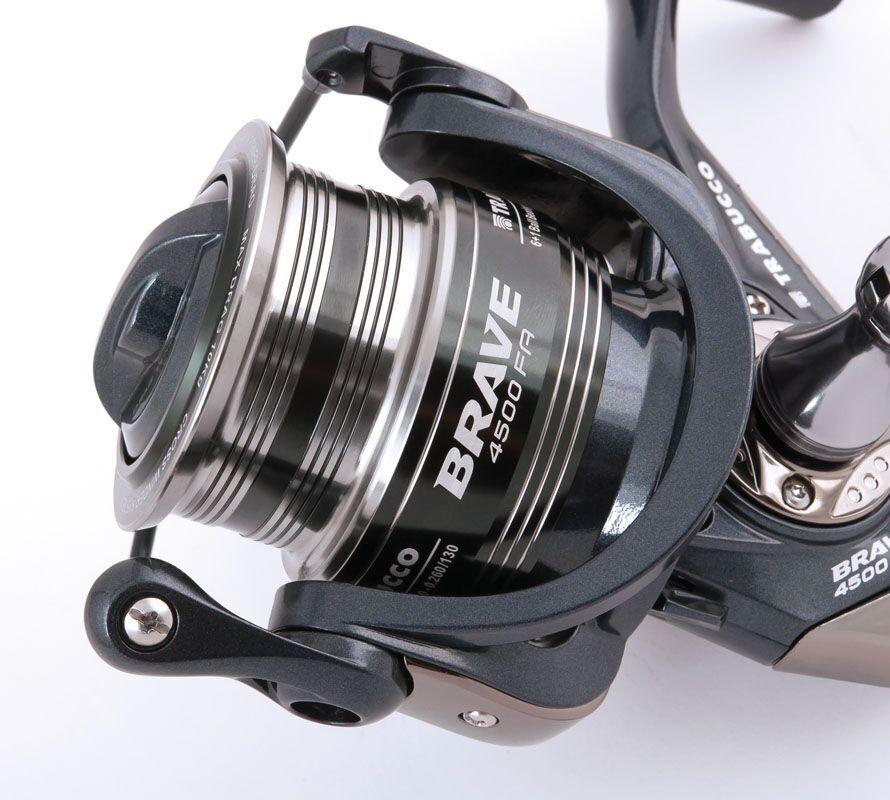 Fishing Reel ,OverGrößed TRABUCCO BRAVE FA (6+1BB) ,OverGrößed Reel Spool 6dd90b