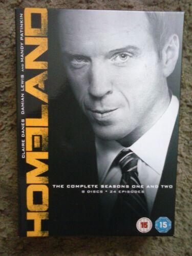 1 of 1 - Homeland - The Complete Season 1-2 [DVD] 8 Discs - 24 Episodes [2011]