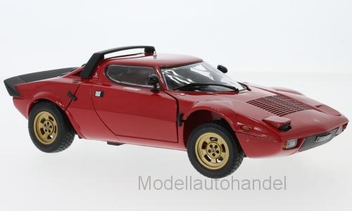 Lancia Stratos Stradale rot 1975 - 1 18 Sunstar 4521     NEW