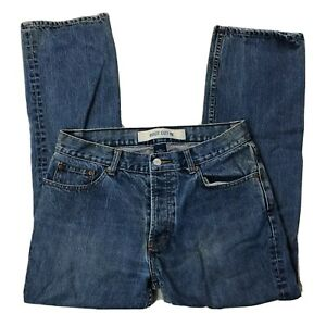 Vtg-Gap-Boot-Cut-Jeans-Womens-Sz-8-Ankle-Short-Blue-Medium-Wash