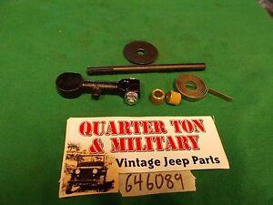 Exhaust Manifold 134L Flat head four cylinder Fits MB GPW CJ2A M38 CJ3A Willys