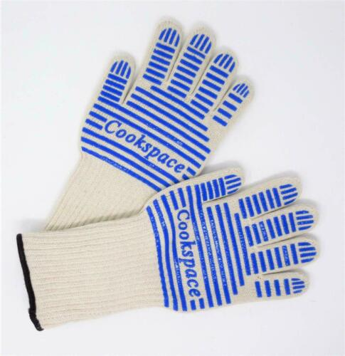 Non-slip Silicone Grip Heat Protection Large Oven Gloves Pair