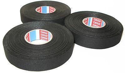 New Tesa Motor Vehicle Fabric Tape 51006 19mm x 25m Tape Tape Bis 150°C Mwst