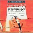 Niccolo Paganini - Paganini: Centone di Sonate for violin and guitar, Vol. 1