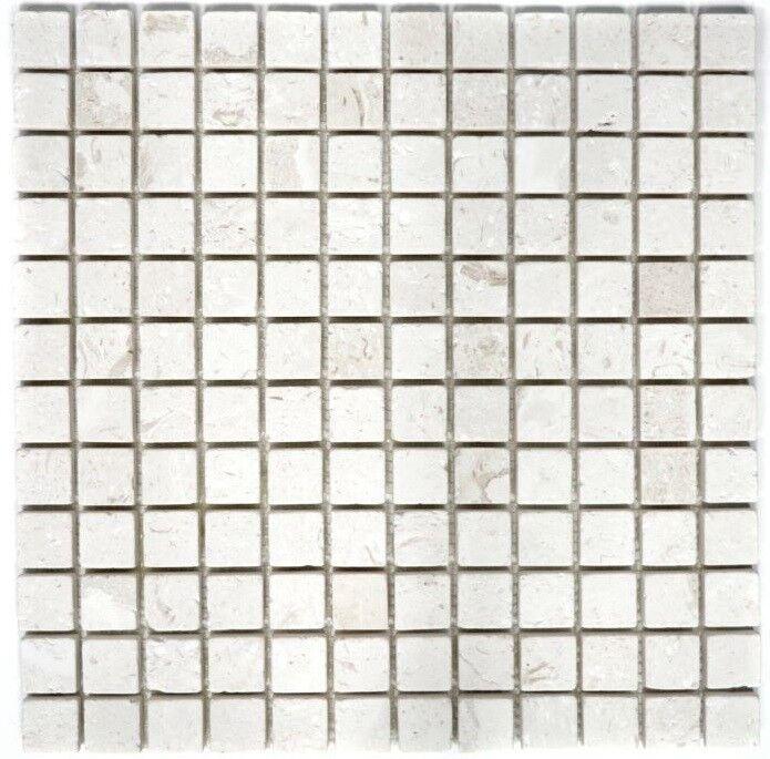 Mosaique carreau Pierre Calcaire Naturel Weiß Colonial 29-49023_f   10 plaques