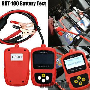 bst100 car battery system tester lead acid cranking. Black Bedroom Furniture Sets. Home Design Ideas