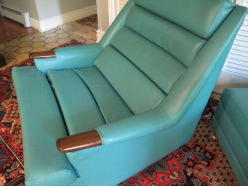 Mid Century Modern KROEHLER Lounge Chair & Ottoman super Modern Design