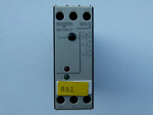 Schiele Entrelec thermistor motor Protection Relay tipo mss mecotron