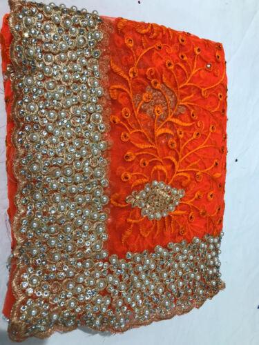 Bollywood saree Party Indian Pakistani Wedding Designer Sari BRIDAL HEVAY NET