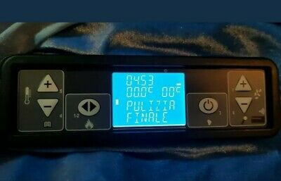 DISPLAY MICRONOVA LCD RETROILLUMINATO STUFA A PELLET