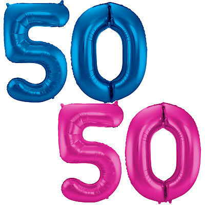 Geburtstag Jubiläum Luftballons Folienballons Zahlenballons 86cm Deko zum 30
