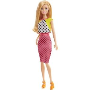 Barbie Fashionistas Doll Polka Dot Dress DPG86 BNIB SHIPS FAST