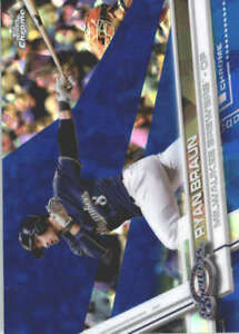 RYAN-BRAUN-2017-TOPPS-CHROME-SAPPHIRE-EDITION-220-ONLY-250-MADE