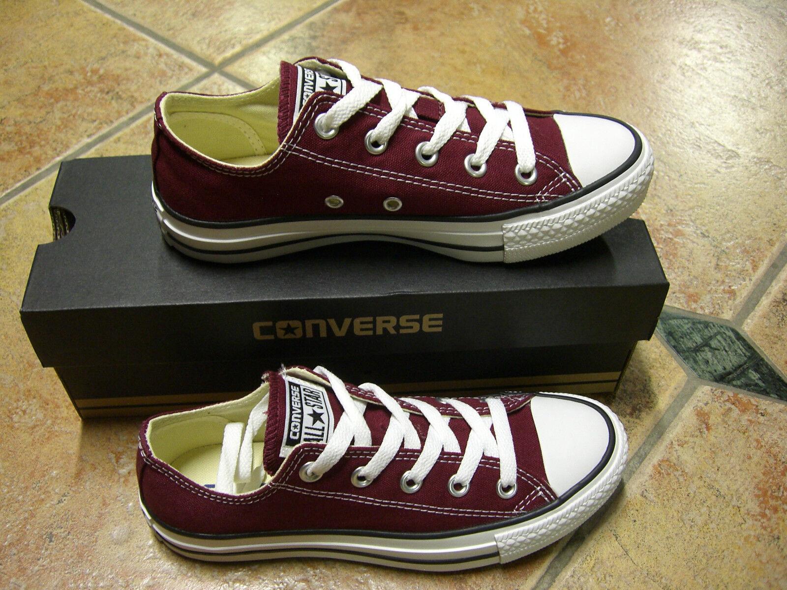 Converse Chucks All MAROON Star OX Größe 39,5 MAROON All WEINROT Modell M9691C Neu Sneaker c975e6