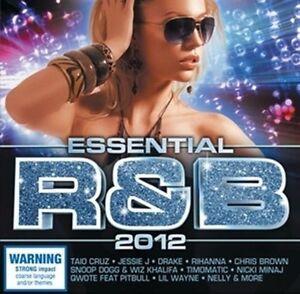ESSENTIAL-R-amp-B-2012-Feat-Drake-Rihanna-Nicki-Minaj-Jason-Derulo-2CD-NEW