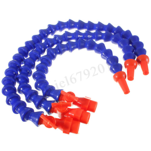 1//2 Flexible Plastic Water Oil Coolant Pipe Hose For Lathe CNC+Switch UK