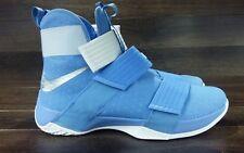 5e3a4f199b7 30 New Size 13.5 Nike Lebron LBJ Soldier 10 TB Promo University Blue 856489- 443