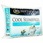 Serta 1627401 Sertapedic Cool Slumber Gel King Size Pillows Set of 2 - White