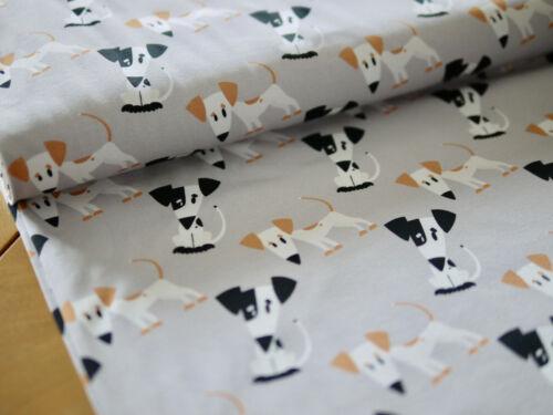 DE Coton Jersey-Pression chiens baumwolljersey Jersey chien paillette tissu
