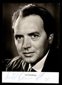 Autogramme & Autographen Will Quadflieg Rüdel Autogrammkarte Original Signiert # Bc 135541 Auf Dem Internationalen Markt Hohes Ansehen GenießEn