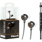 Klipsch X4i In-Ear Headphones with iPod/iPhone Controls Silver/Black (1015882)