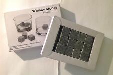 12 pcs Whiskey Whisky Stones Scotch Soapstone Cold Glacier Ice Cubes Rocks Wine