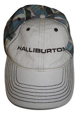 Halliburton Oil Field Services Crude Oil Black Gold Texas Tea Baseball Cap Hat