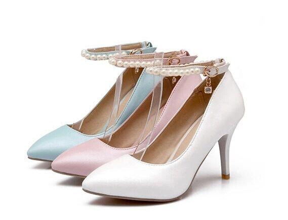Chaussures Escarpin femme talon stiletto 8.5 cm prévaloir dans 3 couleurs 8437