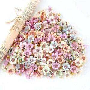 100Pcs-Multicolor-Mini-Silk-Artificial-Daisy-Flowers-Heads-Flower-for-DIY-Wreath