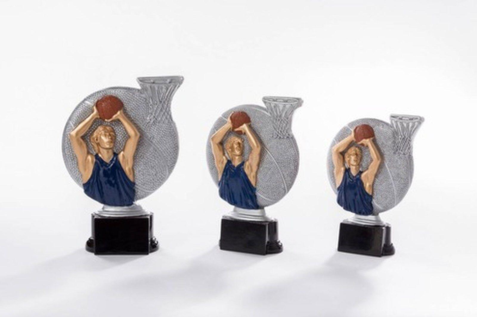6 Figuren Basketball 2x 3er 3er 3er Serie aus Resin mit Gravur (Pokal Korbball Turnier) 27612f