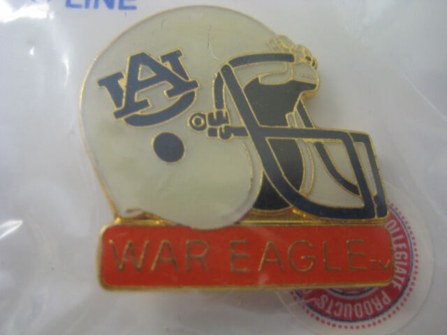 "Auburn University Pin - ""War Eagles"" Helmet"