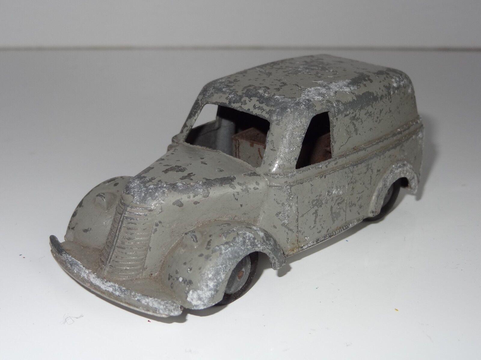 Timpo Toys utilidad van c1947 Fundición temprano con motor y Placa base