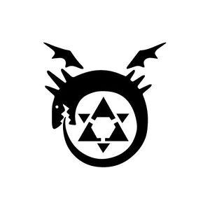 Fullmetal Alchemist Homunculus Die Cut Decal Vinyl Stic