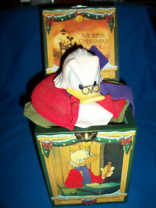 Uncle Scrooge Christmas Carol.Details About Uncle Scrooge Mcduck Musical Jack Music Box Enesco Mickey Christmas Carol Disney