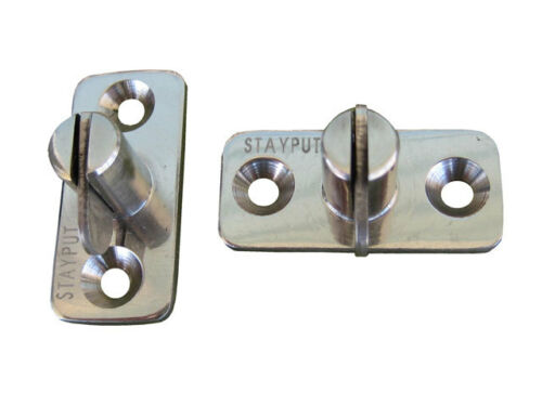 Single Stainless Steel 4 Pack Vertical Stayput Fasteners T Toggles