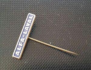 Sammeln & Seltenes Alfa Laval Anstecknadel Lackiert 27x5 Mm Melkmaschinen Hohe Belastbarkeit Pins & Anstecknadeln