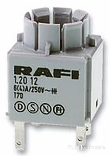 Rafi 1.20.123.025//0000 Kontaktblock Universal 2NO