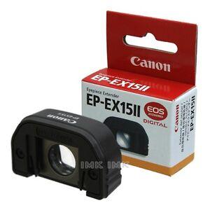 NEW-GENUINE-Canon-EP-EX15II-Camera-Eyepiece-Extender-EP-EX15-II