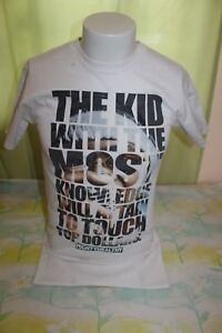 The-Kid-with-the-Most-Knowledge-Mighty-Healthy-Men-s-White-T-Shirt-Size-Small