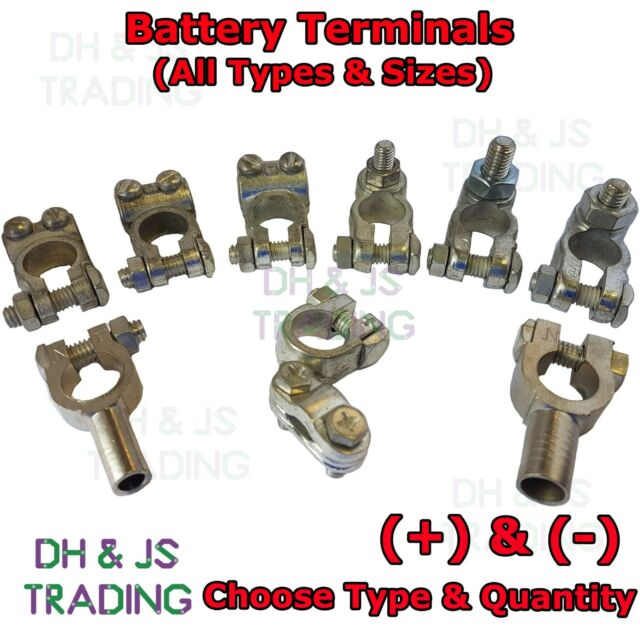 Heavy Duty Battery Terminals Clamp Post Car Auto Van Commercial Plant Lug Lugs