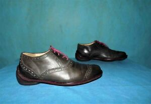 chaussures a lacets MARITHE FRANCOIS GIRBAUD tout cuir marron vieilli p 41 fr