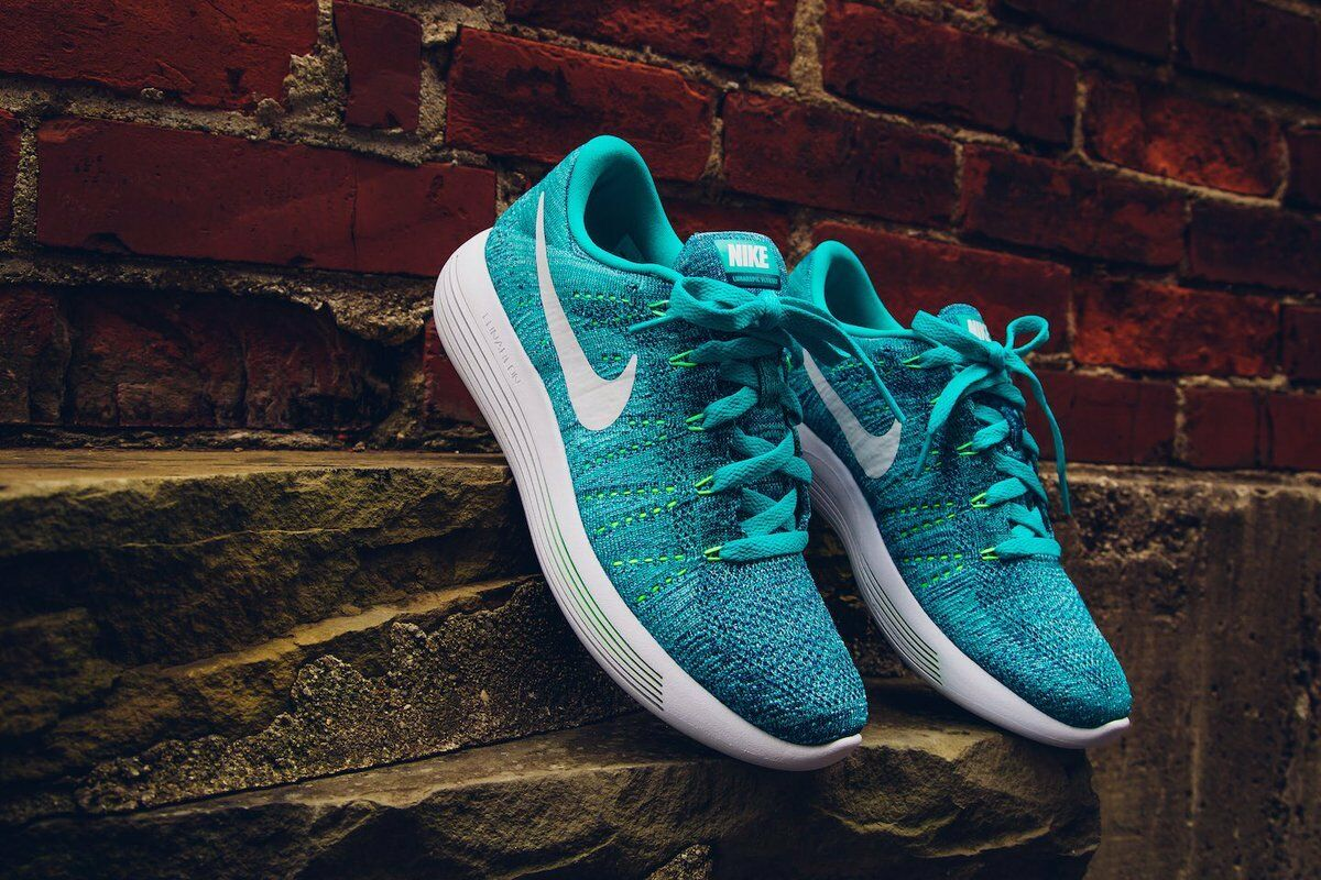 Women's Nike Lunarepic Low Flyknit 843765-301 JADE/WHITE/OCEAN FOG SIZE 9 Price reduction New shoes for men and women, limited time discount