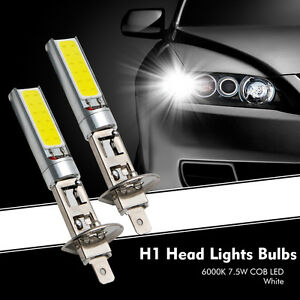 2X-H1-Xenon-Blanc-Lampe-Phare-Voiture-Lumiere-6000K-7-5W-COB-LED-SMD-DRL-Beam