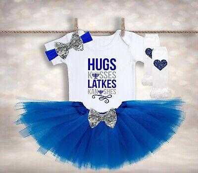 NEW My 1st Hanukkah Chanukkah Menorah Kids Baby T-shirts Bodysuits Newborn-Kids
