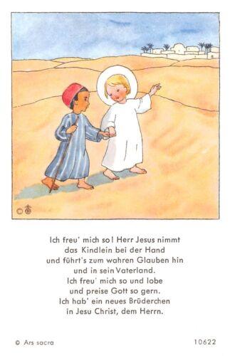 """Le zèle photos icône gebetbild ANDACHTSBILD HOLY CARD ARS sacra /""""h552/"""""""