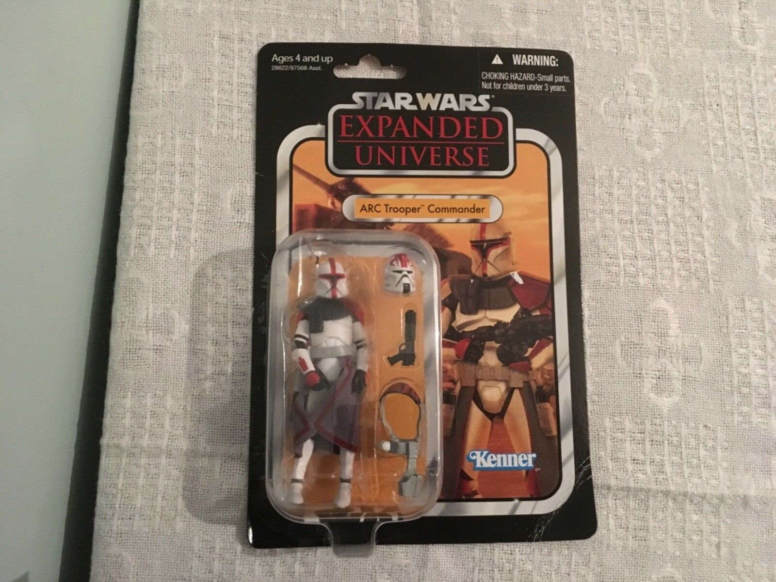 Estrella Wars Arc Trooper Commander Universo expandido mediante Kenner