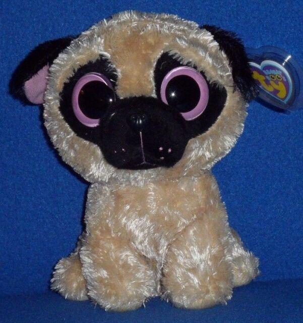 Ty Beanie Boos Pugsly Dog 6  Plush for sale online  0ab7ec88d8
