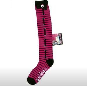 Girls-Monster-High-Socks-Knee-High-Size-2-8