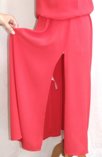 Cotonniers Tintel T Fluido Vestito Modello 38 Rosa Lungo Des Comptoir Eccellente g5wqx17g